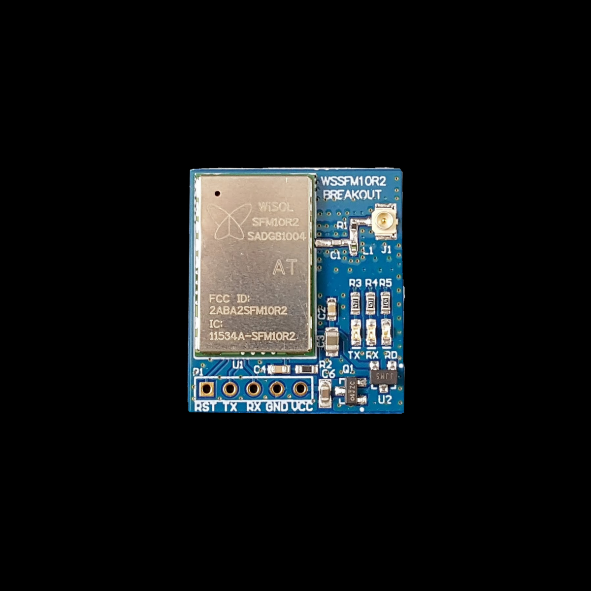 Wisol WSSFM10R2 Dual Voltage Breakout Board
