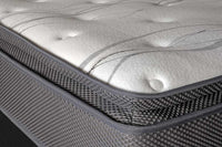 Alpha Pillow Top Mattress and Base