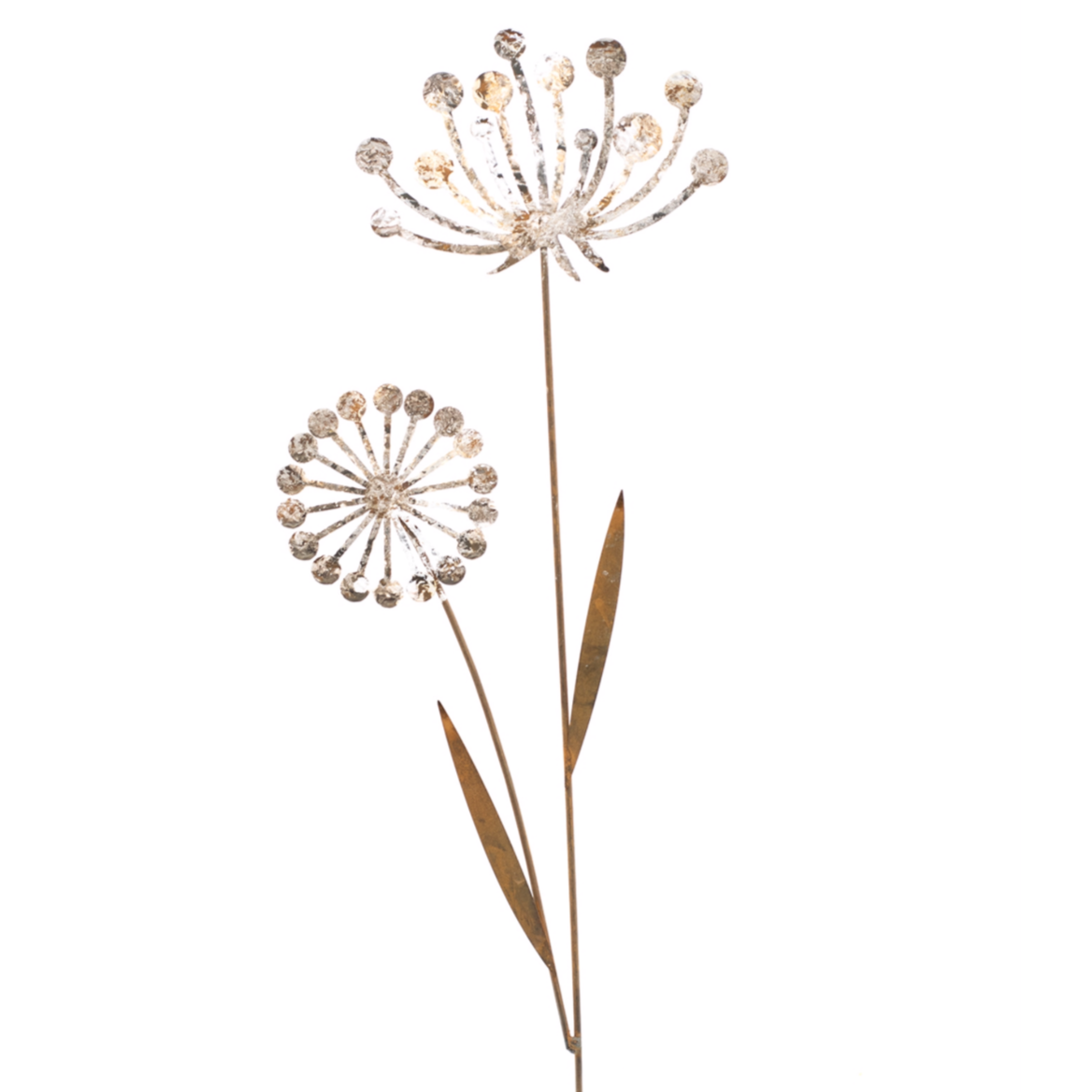 Queens Lace Flower Stake, Set of 2-Simple and Grand-Simple and Grand