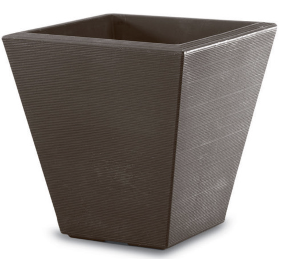 "Signature Container Upgrade-Simple and Grand-Round-Old Bronze-20""-Simple and Grand"