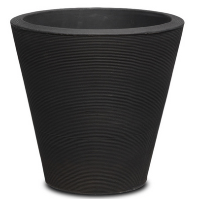 "Signature Container Upgrade-Simple and Grand-Round-Caviar Black-20""-Simple and Grand"