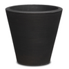 "Signature Plus Container Upgrade-Simple and Grand-Round, 26""x26""-Caviar Black-Simple and Grand"