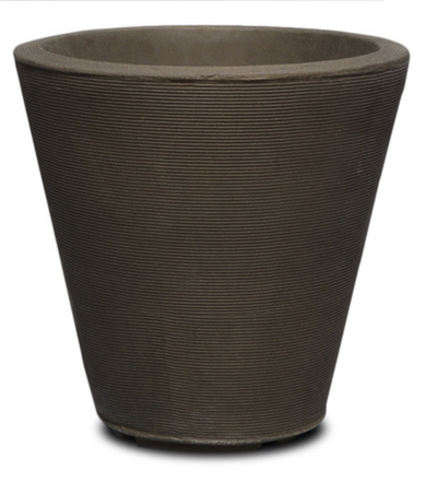 "Signature Plus Container Upgrade-Simple and Grand-Round, 26""x26""-Old Bronze-Simple and Grand"
