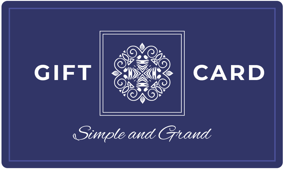 Gift Card-Seasonal Decor-Simple and Grand-$500-Simple and Grand