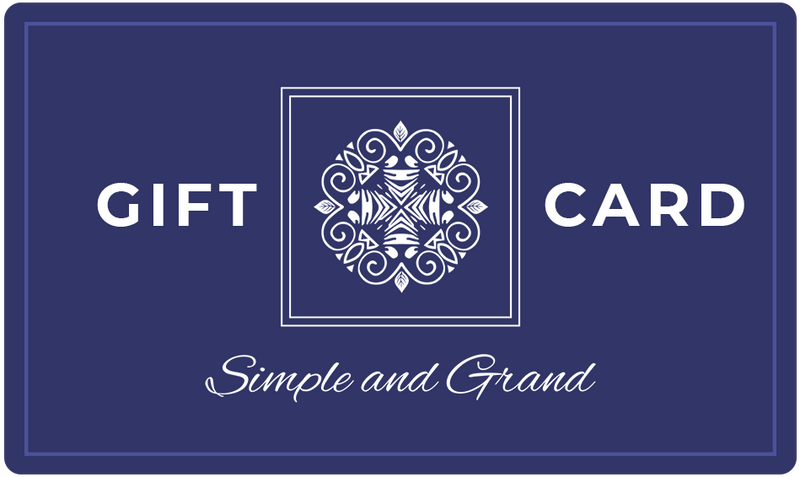 Gift Card-Gift Card-Simple and Grand-$500-Simple and Grand