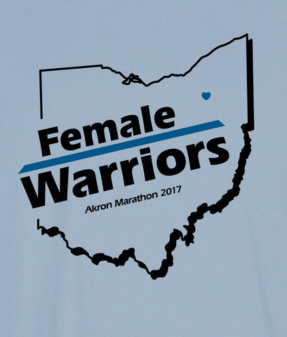 Female Warriors - Akron Marathon 2017