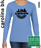 Akron Tire - Ladies Long Sleeve