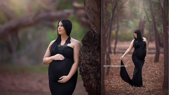 Maternity Gown - Lacii Deluxe NO Throwing Train