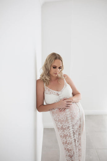 Maternity Gowns - Boho/Lifestyle - Soft Lace Dress