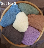 Clearance: 6 Soft, Lacy Pattern Stretch Knits in Sets - Newborn