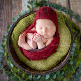 Clearance 2 Mohair Bonnet/Wraps per Set - Newborn