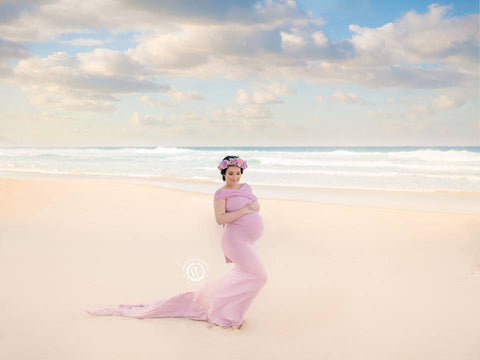 Maternity Gown - Bonni Deluxe