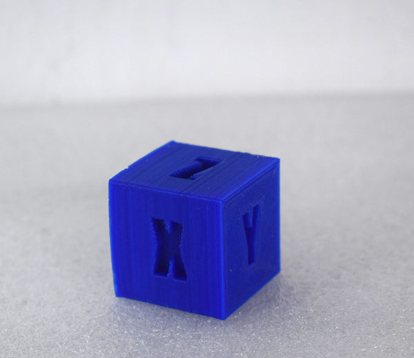 TPU consumables model case square letter xyz
