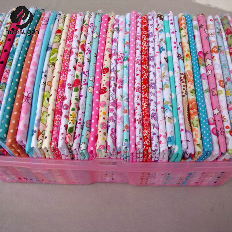 50 pcs 20cm x 25cm 100% Twill Cotton Fabric - Pikki Designs