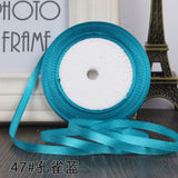 22 Meters Single Face Satin Ribbon 6 mm wide - Pikki Designs