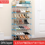 Shoe Rack Easy Assembled Plastic , Space Saving - Pikki Designs