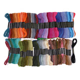 150 pieces Different Colors Embroidery Thread - Pikki Designs