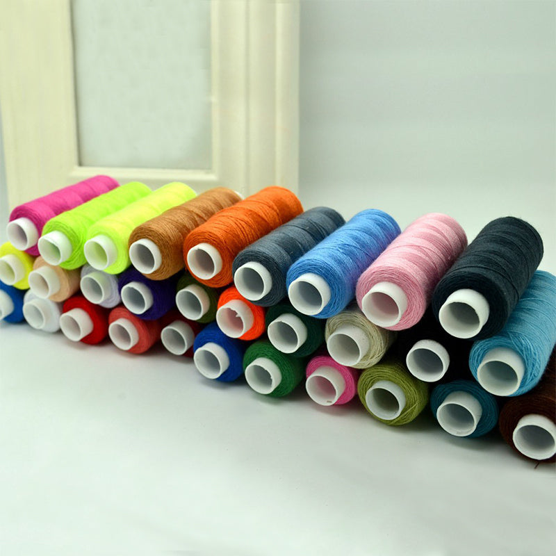 30Pcs Colorful 250 Yards High quality machine embroidery thread - Pikki Designs