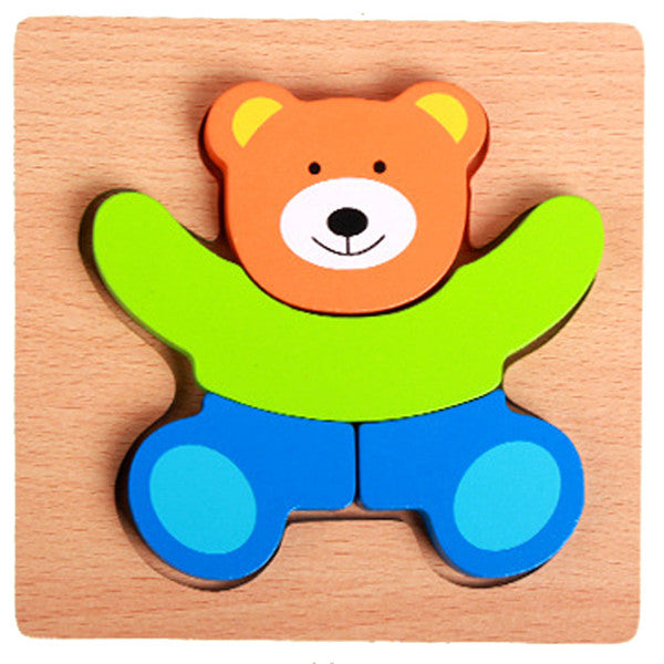 Building Blocks For Baby Educational Montessori - Jigsaw Puzzle - Pikki Designs