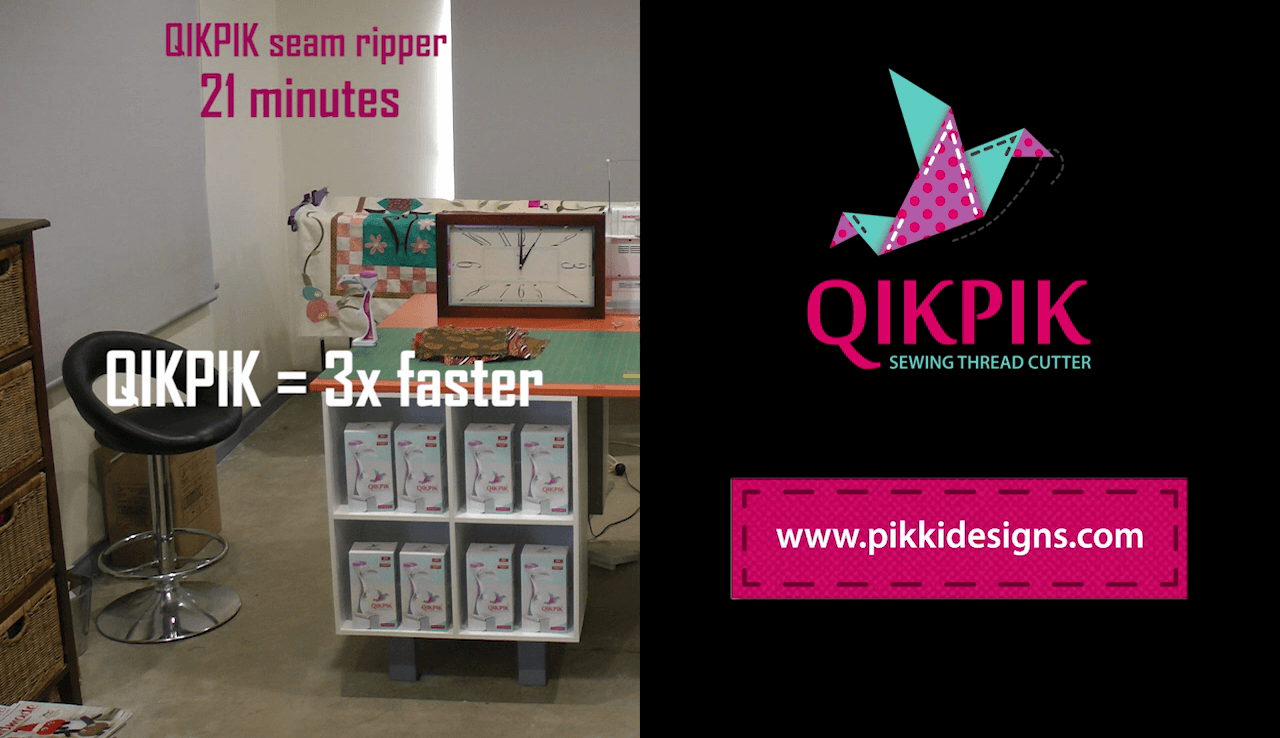 The QIKPIK seam ripper | One of the Best sewing notions you will ever own