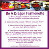 Do You Have What It Takes To Be A Dragon Fashionette?