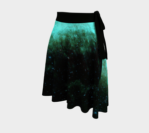 Space Force Dragon Galactic Wrap Around Skirt