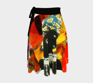 Bakst Dragon Mambo Mama Wrap Around Skirt
