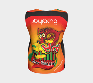 Soyracha Dragon Human Sandwich Board Loose Tank