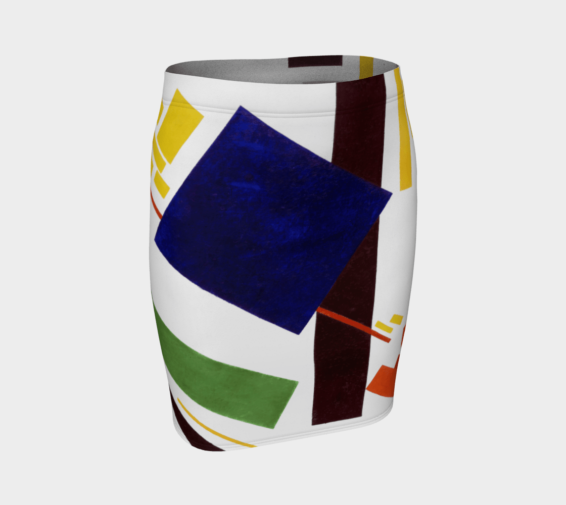 Kazimir Dragon And The Abstracts Pencil Skirt