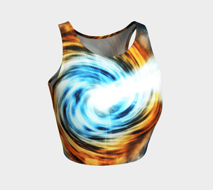 Planet Dragon Cosmic Swirly Cue Crop Topper