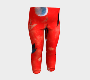 Flower Myth by Paul Klee Oh Baby Leggings