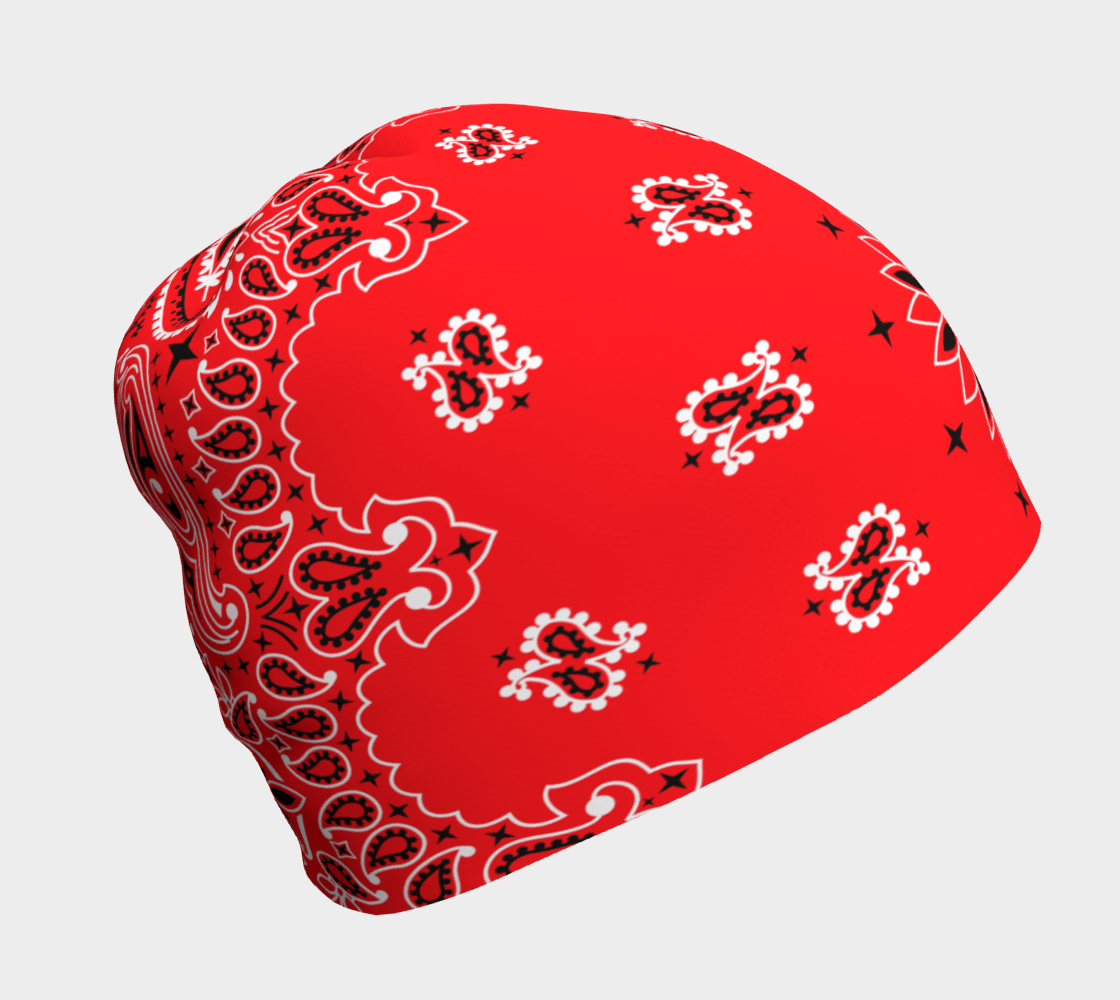 Bobby McGee Dragon Red Bandana Flapper