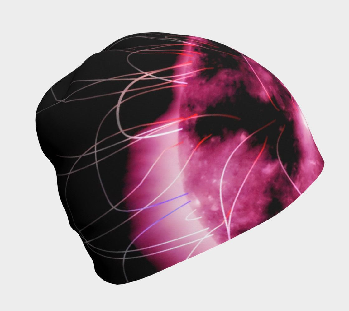 Jimi Dragon Purple Haze Flapper Cap