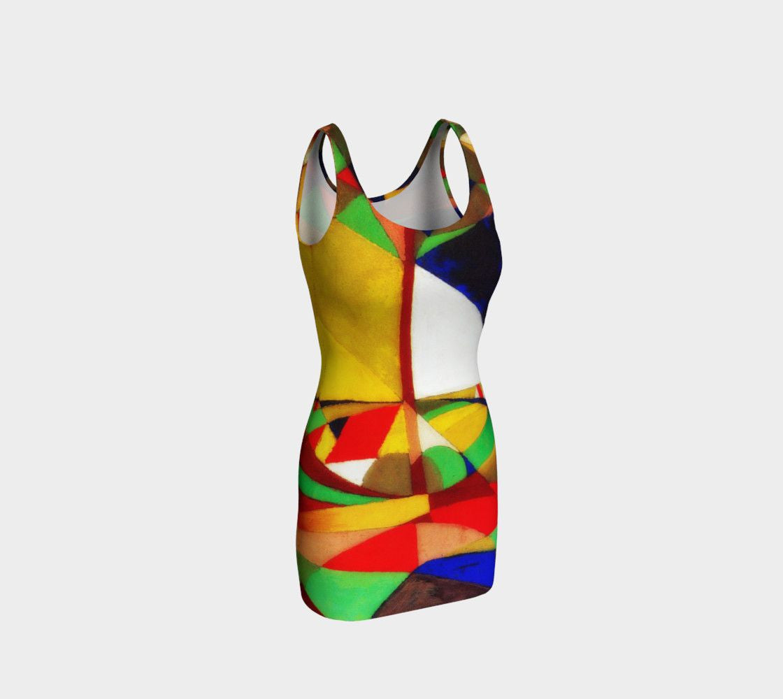 Abstract Dragon Aerial View Of Your Bodycon