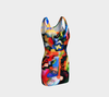 Macke Dragon Hip Enhancer Abstraction Bodycon