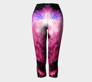 Jimi Dragon Purple Haze Capris