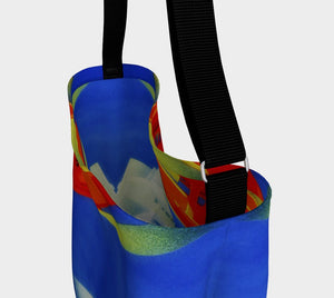 Get Away From It All Dragon Fly Me Travel Tote