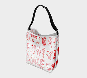 Manfred Dragon Go Font Yourself Tote