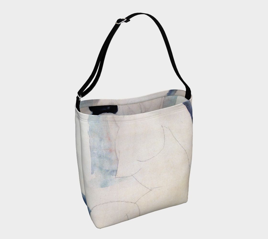 Amedeo Dragon Nude Ghost Tote Bag