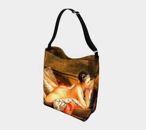 Boucher Booty Dragon Nudie Cutie Tote