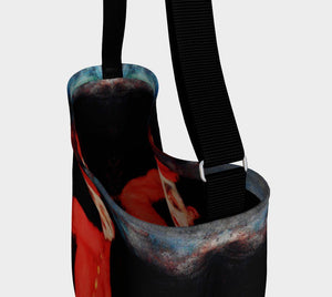 Valet Dragon Hip Bell Hop Tote