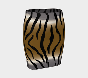 Animal Style Dragon In & Out Pencil Skirt