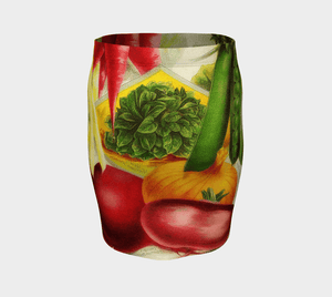 30 Minute Chef Dragon Fresh Vegetables Pencil Skirt