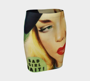 Bad Girl Dragon Bait & Switch Pencil Skirt