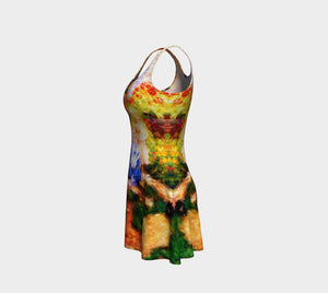 Cowsills Dragon Flower Girl Cocktail Dress