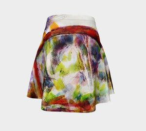 Cross That Bridge Dragon When You Come To It Skater Skirt