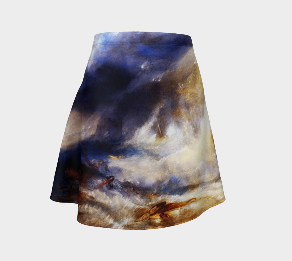 Burner Turner Dragon Surf's Up Dude Skater Skirt