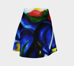 Franz Dragon My Blue Pony Skater Skirt
