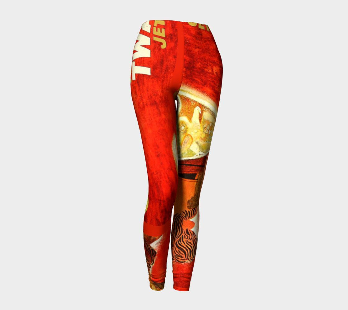 Demosthenes Dragon Hellenistic Athleisure Leggings