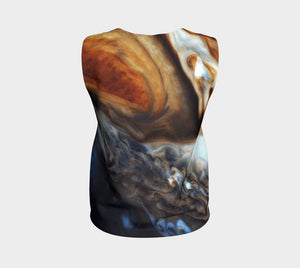 Cassini Dragon By Jupiter Cosmic Loose Tank Top